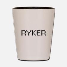 Ryker Digital Name Design Shot Glass