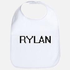 Rylan Digital Name Design Bib