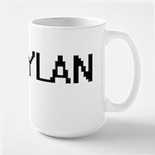 Rylan Digital Name Design Mugs
