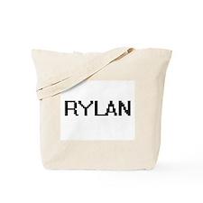 Rylan Digital Name Design Tote Bag