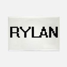 Rylan Digital Name Design Magnets