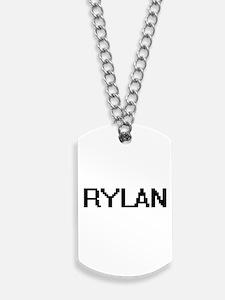 Rylan Digital Name Design Dog Tags