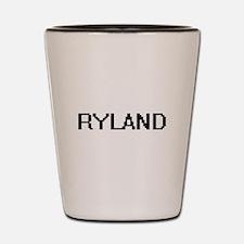 Ryland Digital Name Design Shot Glass