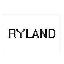 Ryland Digital Name Desig Postcards (Package of 8)