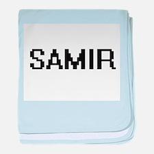 Samir Digital Name Design baby blanket