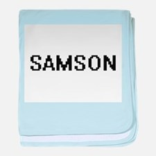 Samson Digital Name Design baby blanket