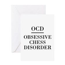 Chess Disorder Greeting Cards