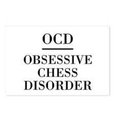 Chess Disorder Postcards (Package of 8)