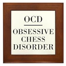 Chess Disorder Framed Tile