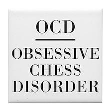 Chess Disorder Tile Coaster