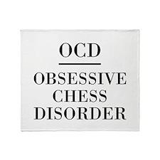 Chess Disorder Throw Blanket