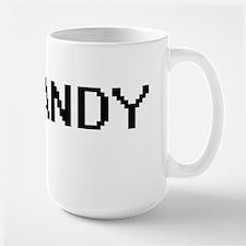 Sandy Digital Name Design Mugs