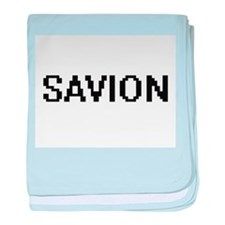 Savion Digital Name Design baby blanket