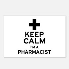 Keep Calm Pharmacist Postcards (Package of 8)