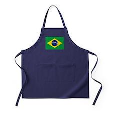 Brazil Flag Apron (dark)