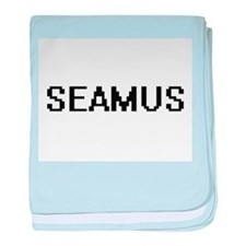 Seamus Digital Name Design baby blanket