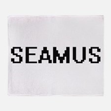 Seamus Digital Name Design Throw Blanket