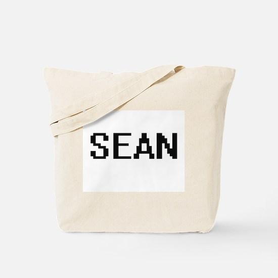 Sean Digital Name Design Tote Bag