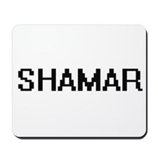 Shamar Digital Name Design Mousepad