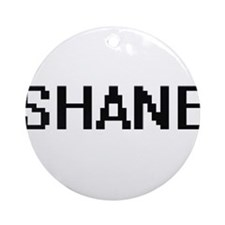 Shane Digital Name Design Ornament (Round)