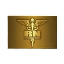 Gold Caduceus (RN) Magnets