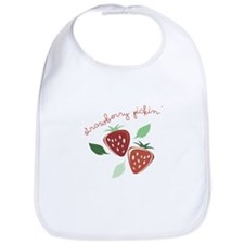 Strawberry Pickin Bib
