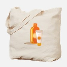 Suntan Lotion Tote Bag