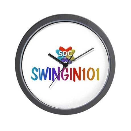 SWINGIN101 Products Wall Clock