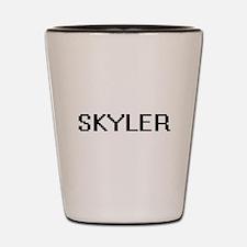 Skyler Digital Name Design Shot Glass