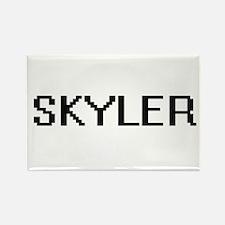 Skyler Digital Name Design Magnets