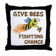 Fighting Chance Throw Pillow