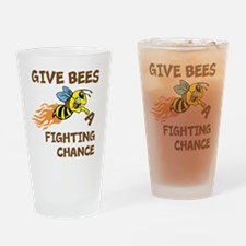 Fighting Chance Drinking Glass