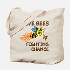 Fighting Chance Tote Bag