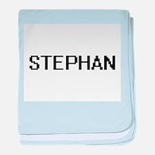Stephan Digital Name Design baby blanket
