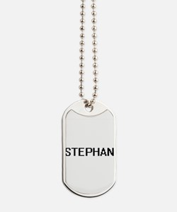 Stephan Digital Name Design Dog Tags
