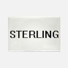 Sterling Digital Name Design Magnets