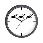 Hopi Mountain Sheep Glyph Wall Clock