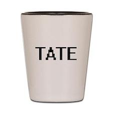 Tate Digital Name Design Shot Glass