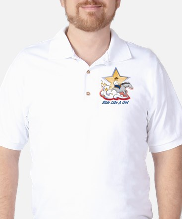 SlideLikeAGrl Golf Shirt