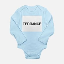 Terrance Digital Name Design Body Suit