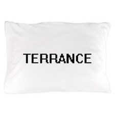 Terrance Digital Name Design Pillow Case