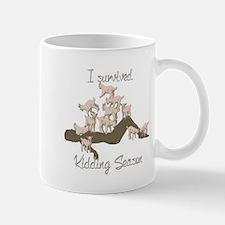 GOAT I Survived Kidding Season 2015 Mugs