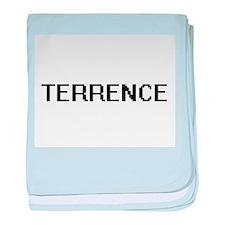 Terrence Digital Name Design baby blanket
