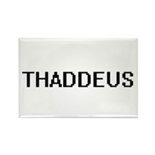 Thaddeus Digital Name Design Magnets