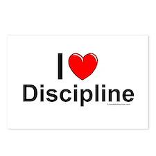 Discipline Postcards (Package of 8)