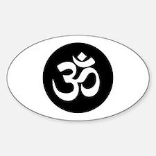 Om Symbol Circle Decal