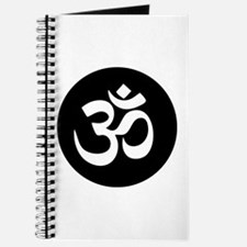 Om Symbol Circle Journal
