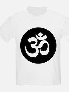 Om Symbol Circle T-Shirt