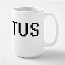 Titus Digital Name Design Mugs