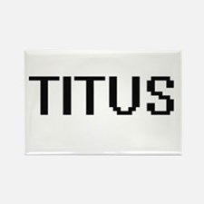 Titus Digital Name Design Magnets